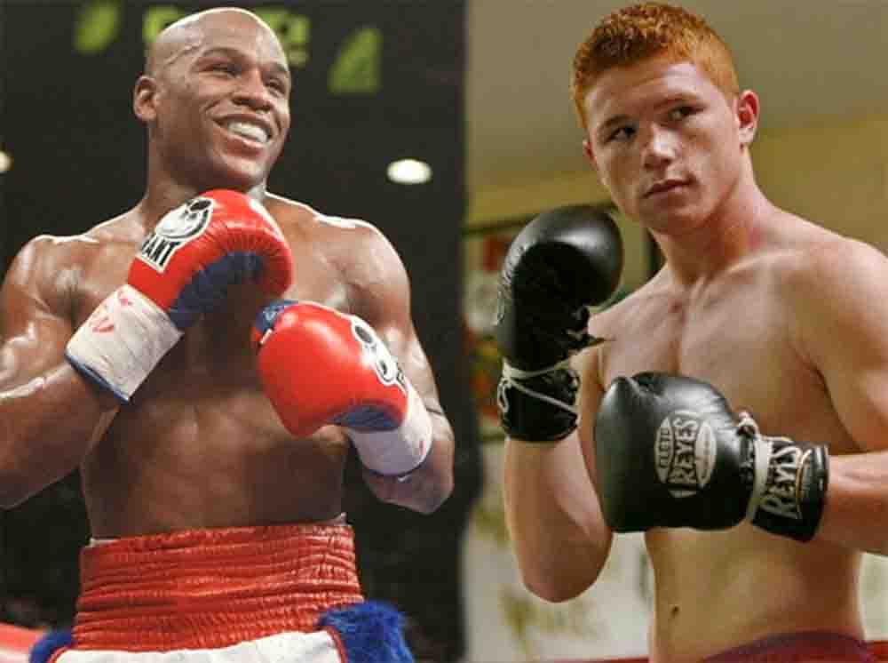 Mayweather vs Alvarez-Jorge Najera