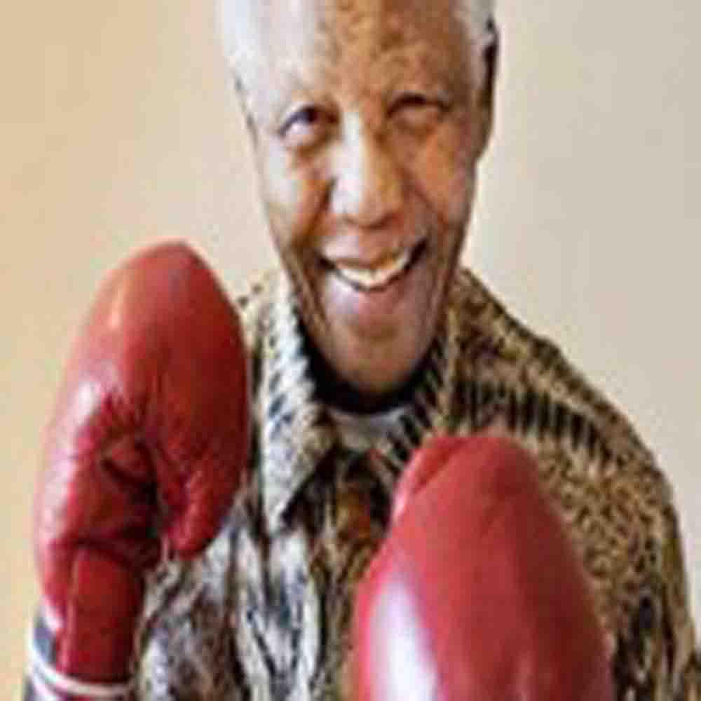 """Nelson Mandela: """"El boxeo es igualitario"""