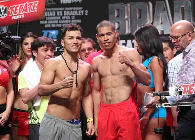 Pesaje Oficial: Manny Pacquiao 145 vs. Timothy Bradley 145.5