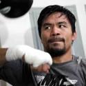 Fotos: Ultimo entrenamiento de Manny Pacquiao