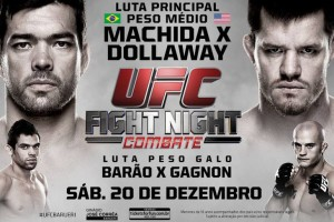 UFC FIght Night Machida VS Dollaway: Resultados de Pesaje Oficial