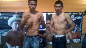 Nicaragüenses Solano y Collado listos para la batalla