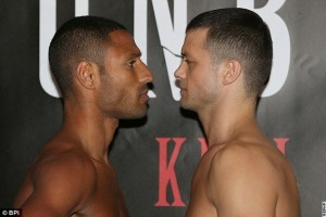 Kell Brook, Jo Jo Dan Make Weight For Title Fight On Showtime