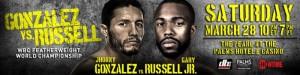 Gonzalez vs. Russell Prelims Results Recap