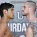 Pesaje Oficial: Omar Figueroa Jr 141.5 vs. Ricky Burns 139.2.