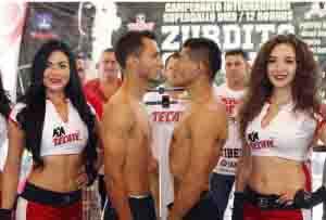 Pesaje Oficial: Juan Carlos Sánchez 122 lbs. vs. César Juárez 122 lbs.